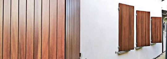 Manutenzione persiane in legno colori per dipingere for Imposte finestre