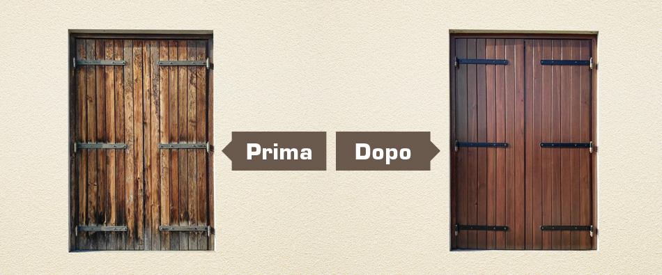 Legnolux verniciatura legno manutenzione restauro - Manutenzione finestre in legno ...
