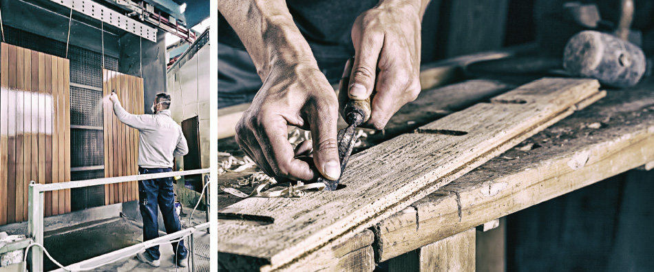 Legnolux verniciatura legno manutenzione restauro - Manutenzione finestre legno ...